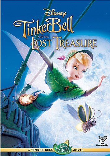 Tinker Bell & The Lost Treasure Disney DVD Ws