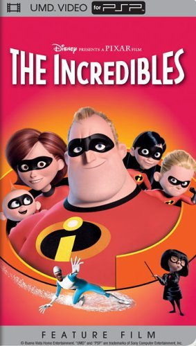 Incredibles Disney Clr Umd Pg