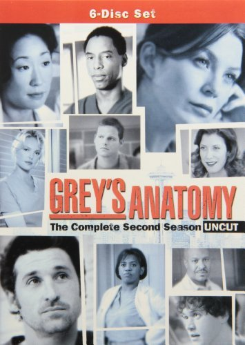 Grey's Anatomy Season 2 DVD Nr