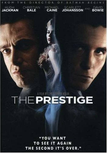 The Prestige Jackman Caine DVD Pg13