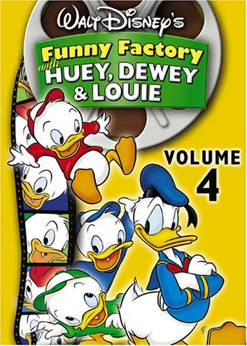 Funny Factory Vol. 4 With Huey Dewey & Louie Clr Nr