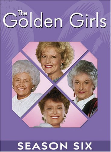 Golden Girls Season 6 DVD Nr