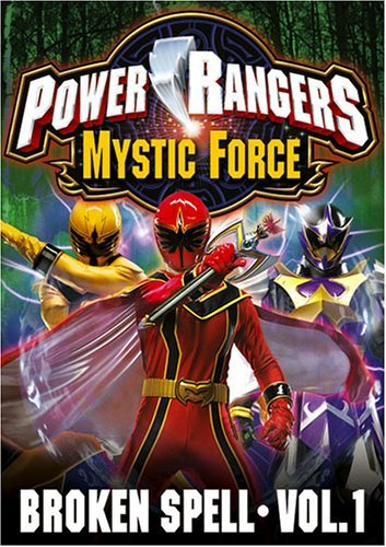 Power Rangers Mystic Force Vol. 1 Broken Spell Clr Nr
