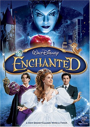 Enchanted Dempsey Adams Marsden Sarandon DVD Pg