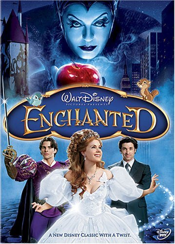 Enchanted Dempsey Adams Marsden Sarandon DVD Pg Ws