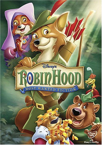Robin Hood Disney Clr Nr Mosted Want