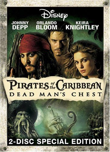 Pirates Of The Caribbean Dead Depp Rush Bloom Knightley Clr Ws Nr 2 DVD