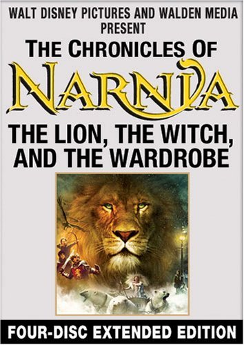 Chronicles Of Narnia Lion The Witch & The Wardrobe Cosmo Winstone Everett Swinton Pg 4 DVD Extended Ed.