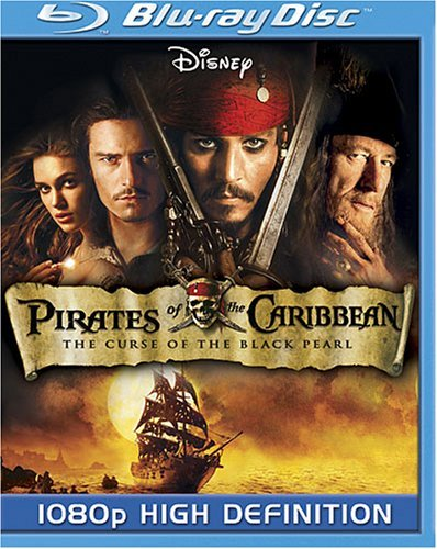 Pirates Of The Caribbean Curse Pirates Of The Caribbean Curse Ws Blu Ray Pg13 2 DVD