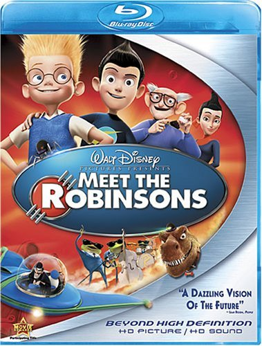 Meet The Robinsons Disney Ws Blu Ray Pg