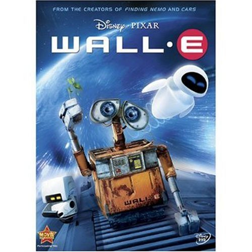 Wall E Disney DVD G Ws