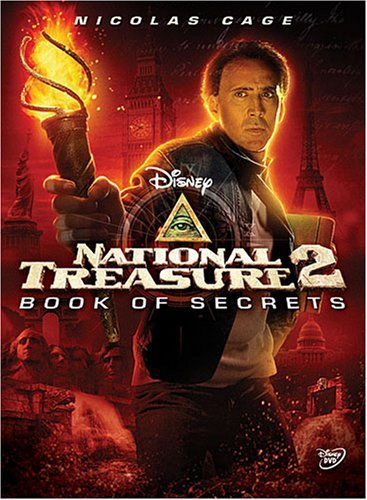 National Treasure 2 Book Of Secrets Cage Nicholas DVD Pg Ws