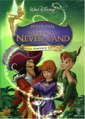 Peter Pan Return To Never Land Disney G