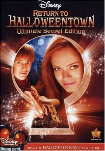 Halloweentown Return To Halloweentown Paxton Grabeel DVD Tvg