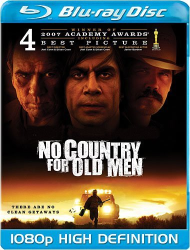 No Country For Old Men Jones Harrelson Brolin Ws Blu Ray R