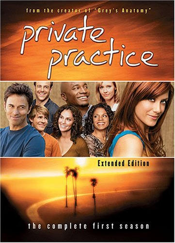 Private Practice Season 1 DVD Private Practice Season 1