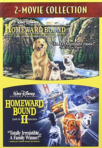 Homeward Bound Incredible Journey Homeward Bound 2 Double Feature Double Feature