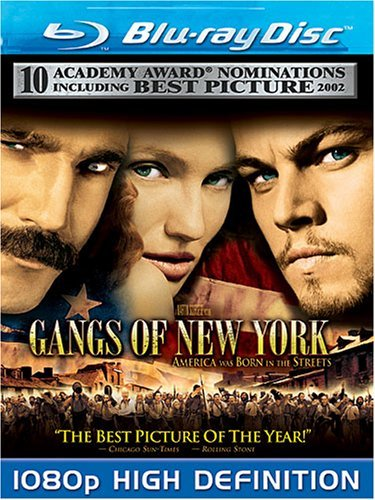 Gangs Of New York Dicaprio Day Lewis Diaz Blu Ray R