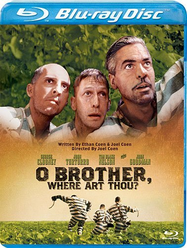 O Brother Where Art Thou Clooney Turturro Nelson Goodma Blu Ray Ws Pg13
