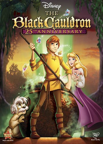 Black Cauldron Disney DVD Pg