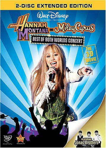 Hannah Montana Best Of Both Worlds Blu Ray 3d Glasses G