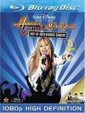 Best Of Both Worlds Concert 2d Hannah Montana & Miley Cyrus Blu Ray 3d Ws G Incl. 3d Glasses