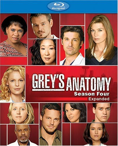 Grey's Anatomy Season 4 Ws Blu Ray Nr 4 DVD