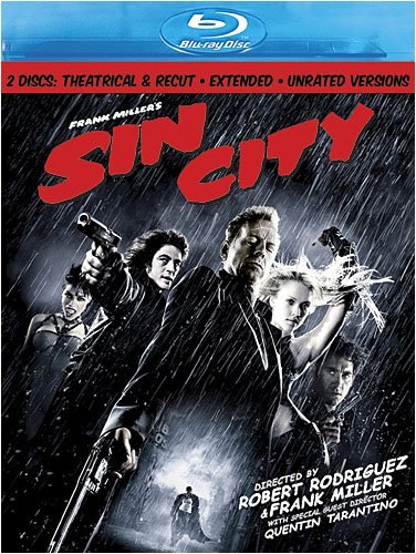 Sin City Willis Alba Rourke Ws Blu Ray Nr 2 DVD