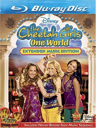 One World Cheetah Girls Blu Ray Ws G
