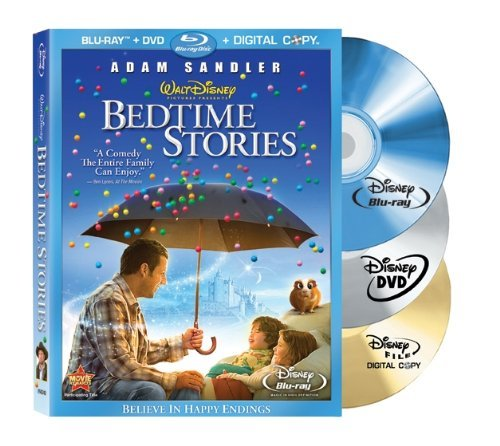 Bedtime Stories(2009) Sandler Cox Pearce Blu Ray Ws Pg 3 Br