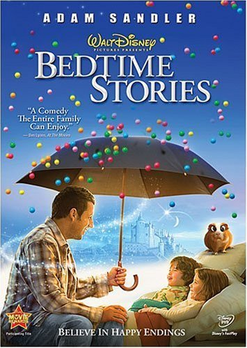Bedtime Stories(2009) Sandler Cox Pearce DVD Pg Ws