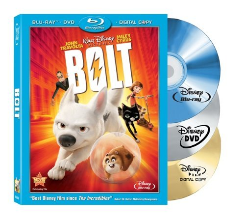 Bolt Disney Blu Ray Pg