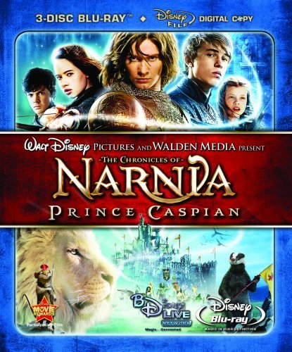 Chronicles Of Narnia Prince C Barnes Henley Keynes Moseley Blu Ray Ws Pg Incl. Digital Copy