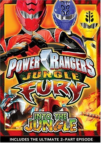 Power Rangers Jungle Into The Jungle Nr