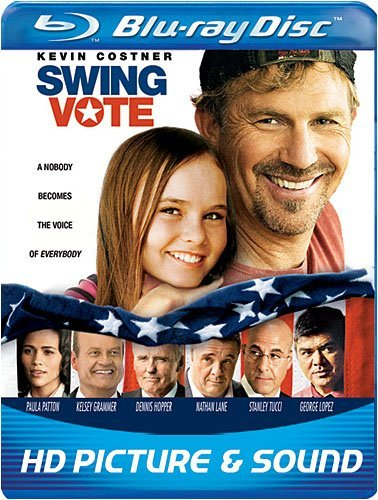 Swing Vote Costner Grammer Hopper Lane Ws Blu Ray Pg13