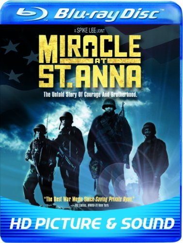 Miracle At St. Anna Lee Turturro Leguizamo Blu Ray Ws R