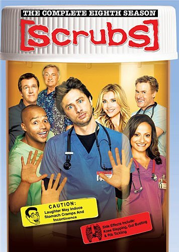 Scrubs Season 8 DVD