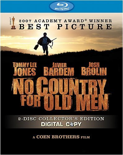 No Country For Old Men Jones Bardem Brolin Ws Blu Ray Special Ed. R 2 DVD
