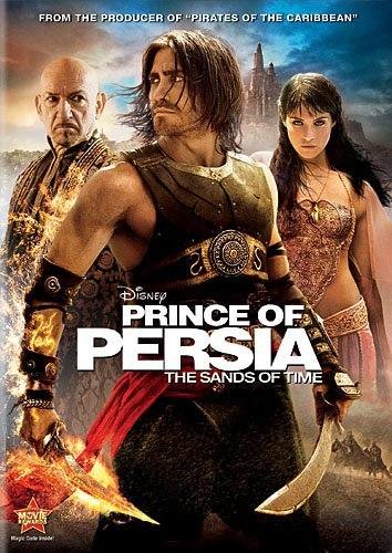 Prince Of Persia Sands Of Time Gyllenhaal Kingsley Arterton DVD Pg13