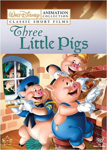 Vol. 2 Three Little Pigs Disney Animation Collection Nr