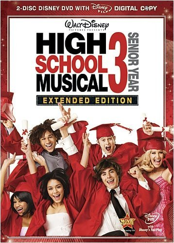High School Musical 3 Senior Efron Hudgens Tisdale Bleu Ws G 2 DVD
