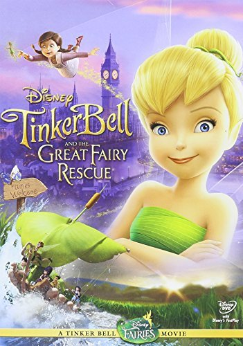 Tinker Bell & The Great Fairy Disney DVD G Ws