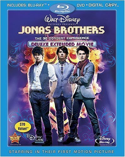 Jonas Brothers Concert Experience Blu Ray Ws Nr 3 Br