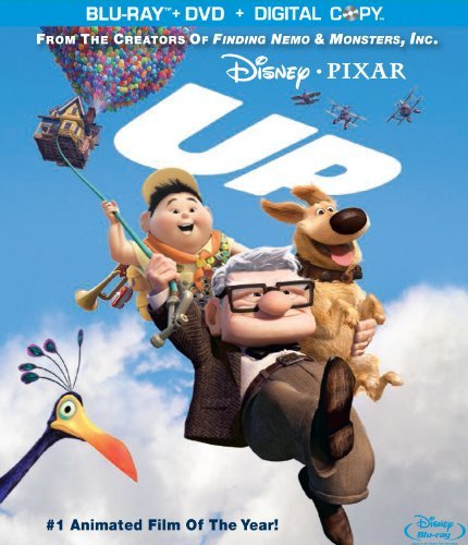 Up Disney Blu Ray DVD Pg