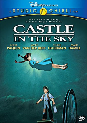 Castle In The Sky Studio Ghibli DVD Pg Ws