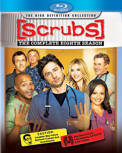 Scrubs Season 8 Blu Ray Season 8