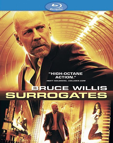 Surrogates Willis Mitchell Pike Kodjoe Blu Ray Ws Willis Mitchell Pike Kodjoe