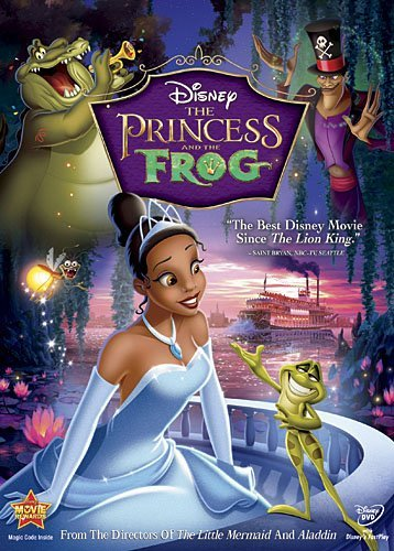 Princess & The Frog Disney DVD G Ws