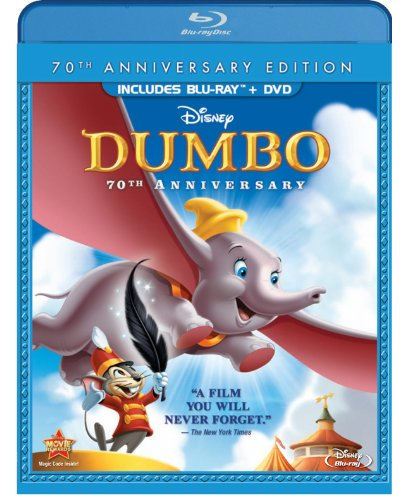 Dumbo Dumbo Blu Ray Ws 70th Anniv. Ed. G Incl. DVD