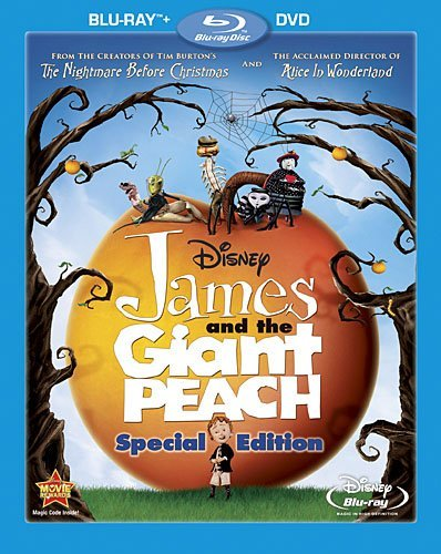 James & The Giant Peach James & The Giant Peach Blu Ray Ws Pg Incl. DVD
